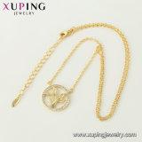 44451 collana Chain dei monili placcata oro popolare di modo 14K in lega del metallo