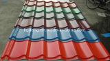 PPGI/PPGLの屋根ふきシートのアフリカのカラーによって浮彫りにされる鋼鉄建築材料