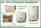 Handelslebesmittelanschaffung-Geräten-Gas-Gärung mit Backen-Ofen