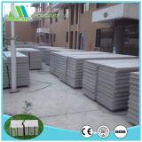 Painéis de sanduíche do cimento do EPS da isolação térmica para a parede de divisória