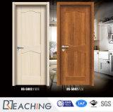 Porte pleine composite en bois de teck de la surface intérieure de porte avant pour Villa