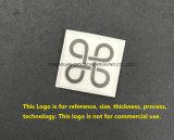 La stampa di scambio di calore del silicone personalizza il marchio per gli accessori degli indumenti