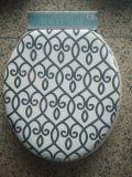 Siège des toilettes réglable et facile de PVC de nettoyage