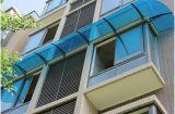 Couverture en aluminium bon marché d'abri d'écran de polycarbonate de bâti pour le balcon de jardin