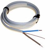 certificado CE 6242y el cobre recubierto de PVC doble plana y de la tierra de TPS El cable eléctrico