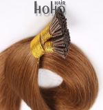 In het groot Haar 20 van de Lijm van de Keratine Menselijke Haar van het Uiteinde van de Duim het Bruine I