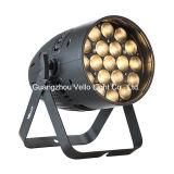 Vello en el interior de lavado de LED PAR puede etapa luminoso (LED Zoompar 19 2in1)