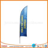La Chine de gros Beach Flag bannière colorée durables
