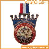 カスタム使用できるスポーツ・イベントメダル骨董品の黄銅によってめっきされる締縄