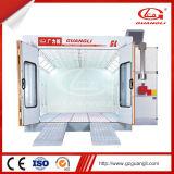 Cabina de aerosol hecha de acero templado superventas del coche de la marca de fábrica Gl4000-A1 de Guangli equipada del filtro