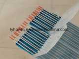 La norma ISO6848 Wt20 Wt30 Wt40 Dia3.2mm Electrodo de tungsteno Thoriated Pulido Tho2