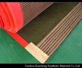 熱い販売のテフロン上塗を施してあるガラス繊維の網のコンベヤーベルト