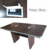 Table de conférence Bureau de meubles en bois Table de réunion de Bureau