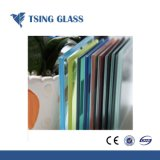 안전 유리 박판으로 만들어진 유리 강화 유리는 확실히 벽/샤워 문/층계를