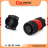 Cnlinko gut, elektrische wasserdichte IP65/IP67 Verbinder2 Pin-Energien-männlich-weiblichen Verbinder verkaufend