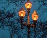 Simulierte Flamme-Birne des Natur-Feuer-LED in der antiken Laterne-Atmosphäre für Feiertags-Hotel-Stäbe