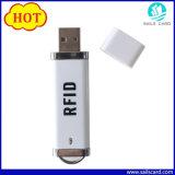 Programa de lectura androide de la tarjeta inteligente de la pluma NFC RFID del USB de ISO14443A
