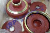 Ventola della pompa dei residui del metallo intercambiabile con le parti della pompa di Warmans