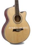 """Guitarra acústica del Basswood 40 de la música de Afanti """" (AAG-116)"""