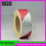 La cinta Sh502 de Somi impermeabiliza la cinta Rojo-Blanca de la marca de la evidencia para la alerta