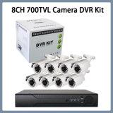 "8CH 700tvl 1/3 ""ソニー960h CCDの屋外のカメラDVRキット"