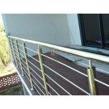 Balaustra residenziale/inferriata dell'acciaio inossidabile 316 della rete fissa del balcone della Camera
