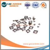 CNC de carburo de tungsteno inserciones indexables ECV Revestimiento PVD