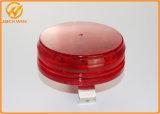 高い明るさのトラフィックの円錐形のための円形の赤LEDの警報灯