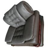 Gutes Sitzgefühls-Büro-Möbel-Leder-Sofa (F099)