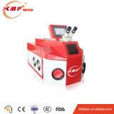 Condizione multifunzionale e saldatrice d'argento portatile del laser del punto di alta precisione dei monili di Glod con il refrigeratore separato