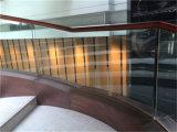 يصنع داخليّة تصميم يحنى يرقّق درجات زجاجيّة
