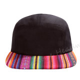 Chapéu feito sob encomenda do tampão do camionista do verão da borda lisa do Snapback do estilo do campista