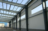 La lumière de l'acier à faible coût de la Structure de l'atelier hangar préfabriqués en usine