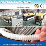 Extrusora da tubulação da proteção do fio, linha de produção ondulada da tubulação da única parede