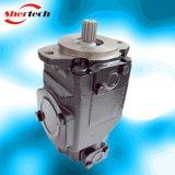 기업 응용 (shertech, Parker Dension T6EE)를 위한 유압 조정 진지변환 두 배 바람개비 펌프 T6 Serie T6ee