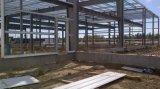Almacén de la estructura de bastidor de metal galvanizado