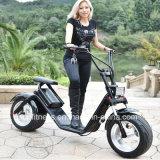 2018 nova concepção de material de liga de alumínio Scooter eléctrico com remover a bateria