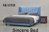 Sk22 미국식 침실 직물 침대