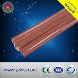 選択のためのさまざまな木デザインのパネルのまわりを回るPVC