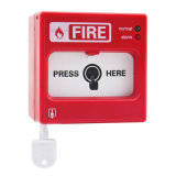 Пункт звонока обычной пожарной сигнализации Asenware ручной с индикатором