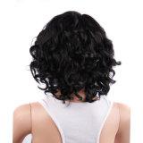 シンセンの供給の熱い販売の不足分の黒人女性のかつらのための巻き毛のブラジルの毛のかつら