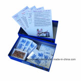 Tarjeta de papel del juego con la impresión Finished del juego de tarjeta de encargo