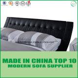 Da mobília moderna do quarto de Dubai base de couro real