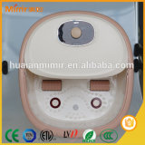 Mimir Shiatsu 4つのローラーが付いている携帯用Electircのフィートの浴室の洗面器、PTCの暖房、半分カバー