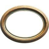 Handgemaakte houten ovale fotolijst M-105(G)