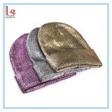 새로운 금 도금술 형식에 의하여 뜨개질을 하는 Skullies 베레모 보닛 온난한 모자