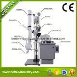 evaporadores aire acondicionado rotatorias de la destilación 1-50L del aparato del sistema solvente de la evaporación con agua de Digitaces