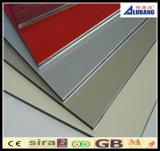Panneau composé en plastique d'aluminium du PE 3mm pour le revêtement de mur intérieur