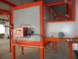 Puder-Spritzlackierverfahren-Zeile für Metallprodukte