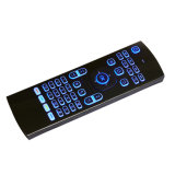 Цветастый освещенный контржурным светом радиотелеграф мыши воздуха клавиатуры Mx3 и мыши